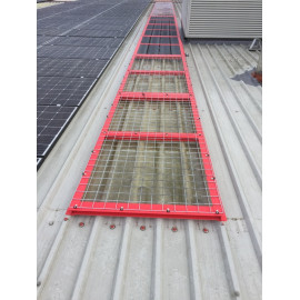 SKYLIGHT SAFETY CAGE
