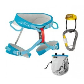 Harness kit for female climbers