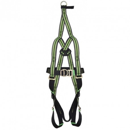 Safety harness  with rescue strap