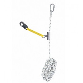 Automatic Rope grab with lanyard