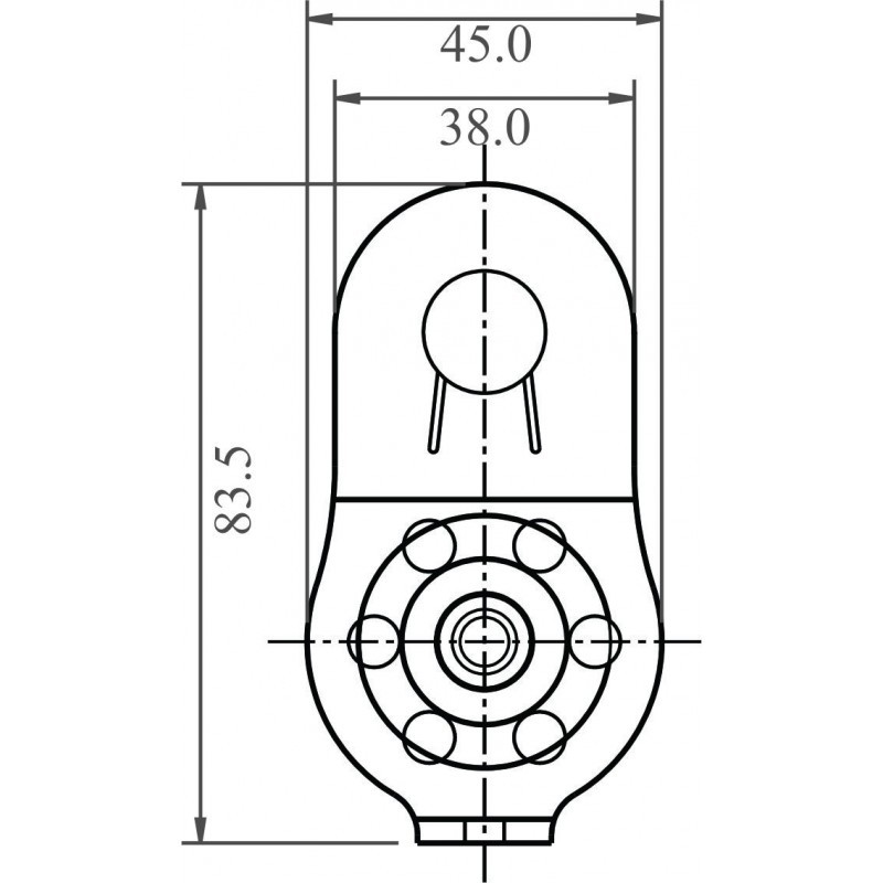 fixed side pulley