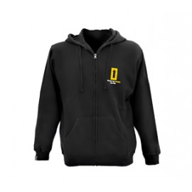 HOODY SWEATSHIRT WITH ZIP