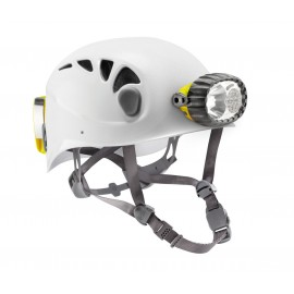 Spelios - Caving helmet with hybrid lighting