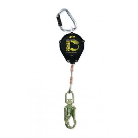 Black Rhino Retractable Lanyard