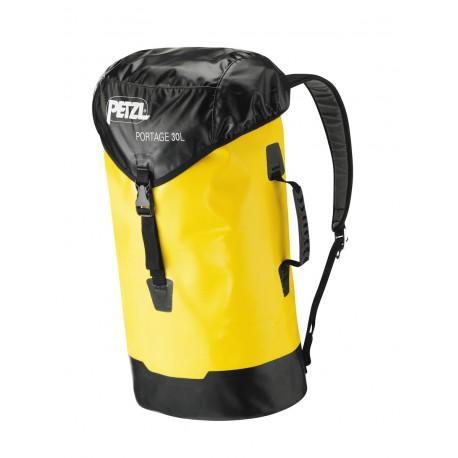 Portage Bag Side, top & shoulder straps