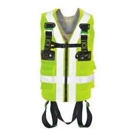 Safety Harness with Hi Vis Jacket