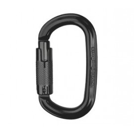 Ozone Carabiner  - Black Triple Lock