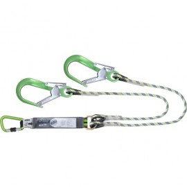 Double Lanyard with Scaffold hook
